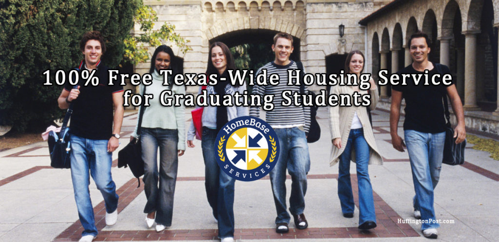 100% Free Texas Wide Housing Service for Graduating Students