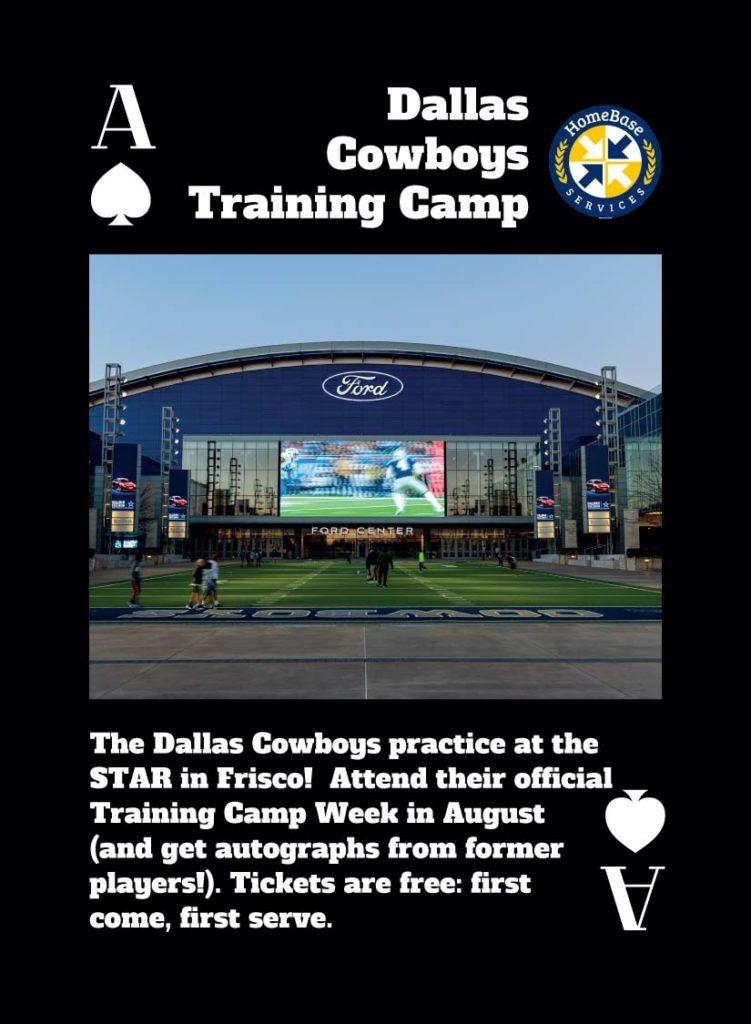 Dallas cowboys Training Camp The Star Frisco Texas
